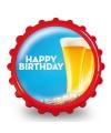 Fles opener happy birthday