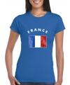 Shirts met vlag van Frankrijk dames