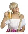 Bierfeest pruiken voor dames Helga