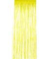 Disco folie deurgordijnen geel