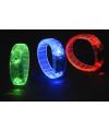 Gekleurde armband met LED licht