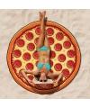 Pizza picknickkleed handdoek 150 cm