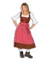 Lang tiroler kostuum voor dames