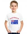 Kinder shirts met vlag van Australie